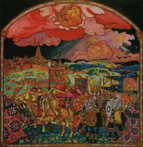 Capture of Kazan by Nikolai Roerich