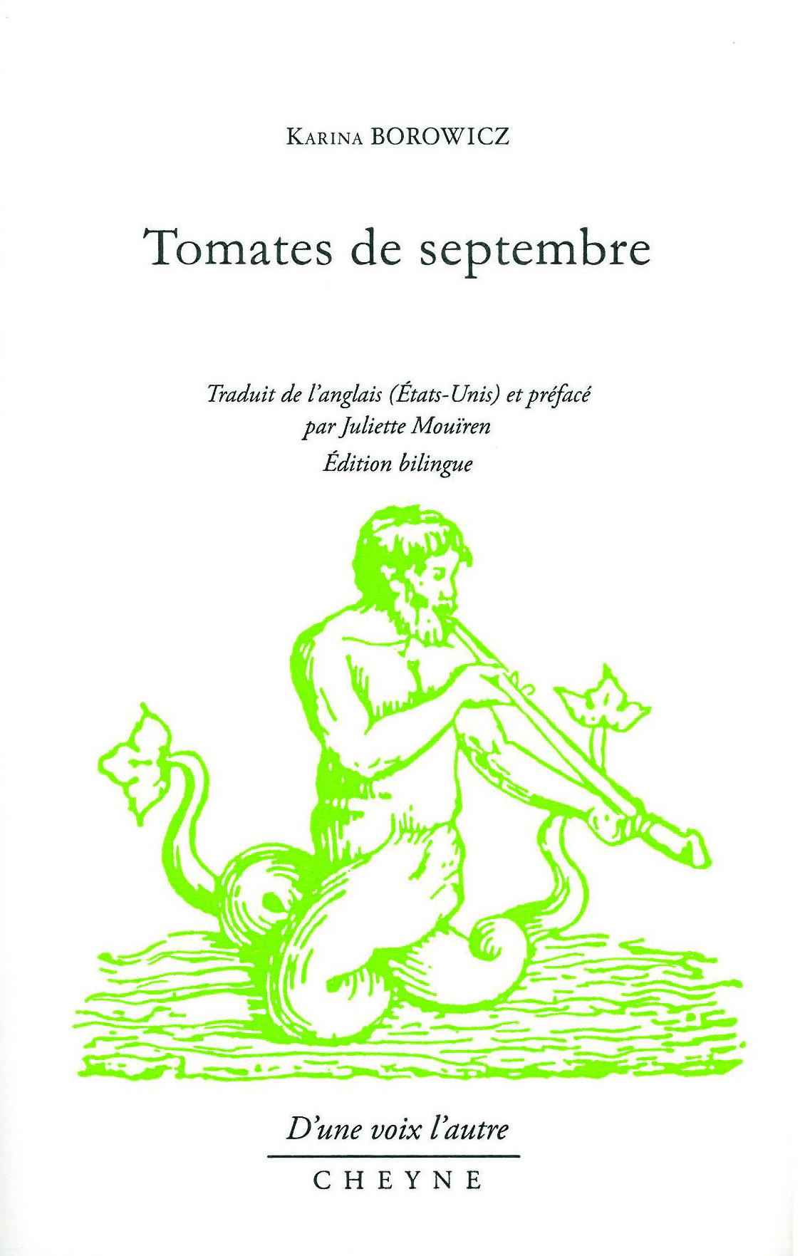 Tomates de septembre cover